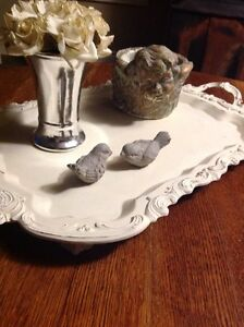 Vintage footed serving tray , French country Belleville Belleville Area image 4