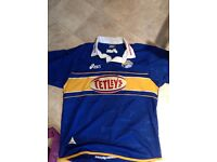 Leeds Rhinos shirt, Size adult XL, won in raffle some years ago and never worn