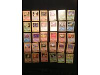Pokemon gym heroes near complete common uncommon card set