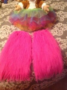 RAVE WEAR - Tutu and leg warmers