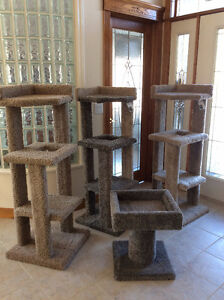 Cat Condos / Tree House & Scratching Posts - Made Very Strong!!