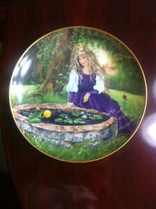 The Frog Prince Collectible Plate