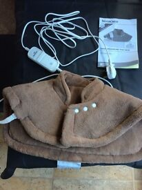 Silvercrest heated shoulder pad with 6 heat settings like new