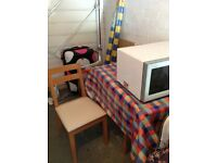 Small kitchen table with 4 chairs