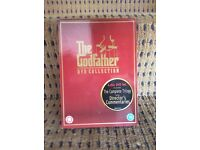 DVD collection of The Godfather