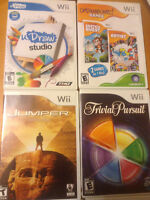 11 Wii Games - 9 Boxes - Bundle for $25.00