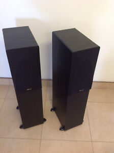 Floor standing Speakers/Amp/& 5 disk CD player