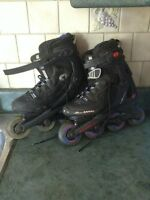 Brand new condition size7 woman's roller blades