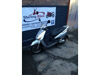 HONDA LEAD 110 SILVER 27K 1 YEAR MOT STERLING