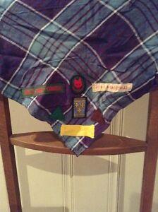 Retro Boy Scouts kerchiefs and emblems