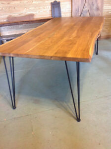 Live Edge Table  On Sale from our Showroom