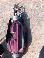 Selling golf club and bag