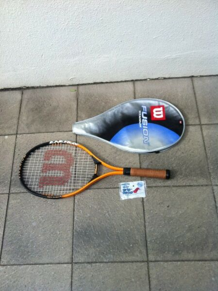 Wilson Titanium Energy Soft Shock 3 tennis racket. Racket in good condition as seldom use.