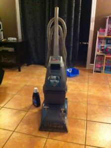 Hoover steam vac deluxe carpet cleaner