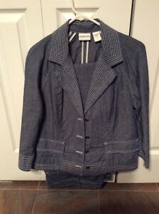 Chico's summer weight jeans and jacket