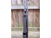 Fox carp rod and rod pod