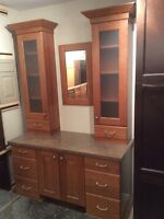 Kitchen Craft Vanity Display by Sun Country Cabinetry Inc.