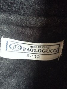 Fall coat from Paolo Gucci Kitchener / Waterloo Kitchener Area image 2
