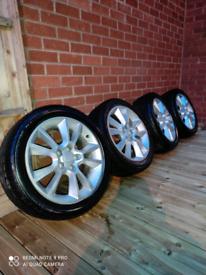 Vauxhall 17 inch alloys