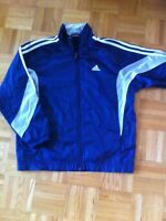 Youth small adidas track rain jacket soccer