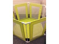 Mothercare playpen baby gate
