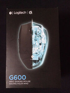 Logitech G600 Wired MMO Gaming Mouse (Excellent Condition)