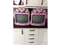 2 X Disney Princess TVs