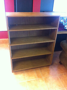 Bookcases for sale larger one $40 smaller $30