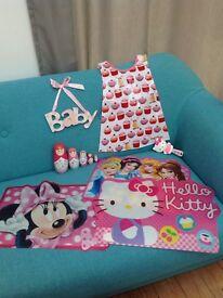 Girls / Kids Toys Accessories - Hello Kitty, Minnie Mouse, Disney Princess, Marzipan, Russian Dolls