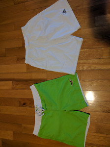 Mens Hollister and Addidas swim shorts