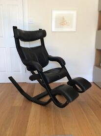 Stokke ergonomic anti-gravity leather chair