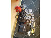 Nintendo 64 console with 10 games