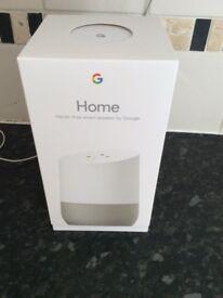 Google Home unopened