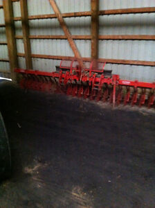 Yetter 15 ft rotary hoe