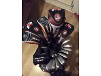 Golf Set - Srixons irons , Ram Fx9 woods and hybrids, Wilson bag and trolley
