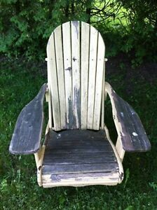 Wooden adirondack chair London Ontario image 1