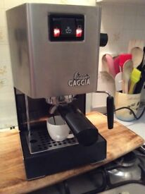Gaggia Classic Espresso Coffee Maker. Made in Italy.