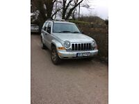 Jeep Cherokee 2.8 litre CRD Limited Turbo Diesel