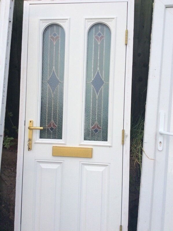 Front door double glazed
