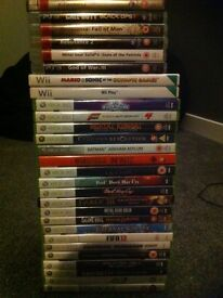 Xbox 360 playstation 3 and wii games bundles