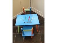 Children's crayon table - good condition £10