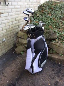 Ladies Golf Clubs set and bag