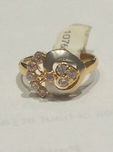 Jolie bague en or 18K