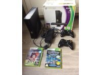 Xbox 360 console comes with games