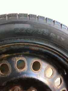 4 Nokian winter tires and rims-excellent condition Strathcona County Edmonton Area image 5