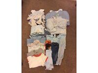 Boy's 0-3m bundle clothes