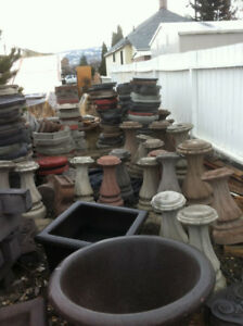 Concrete yard and garden products