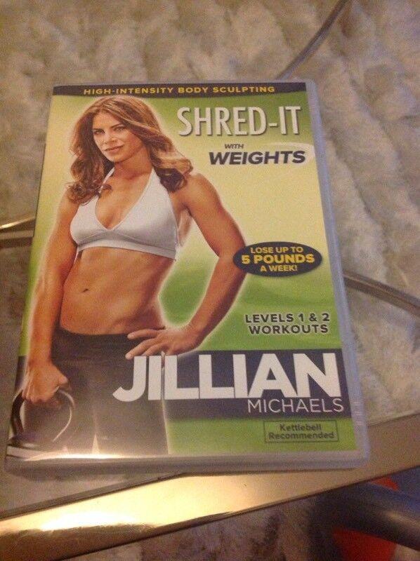 Jillian Michaels Shred-it Kettlebell DVD