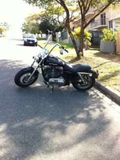 2012 Harley Davidson xl1200 sportster forty-eight bobber chopper  Hawthorne Brisbane South East Preview