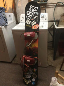 Snowboard and accessories $145 OBO